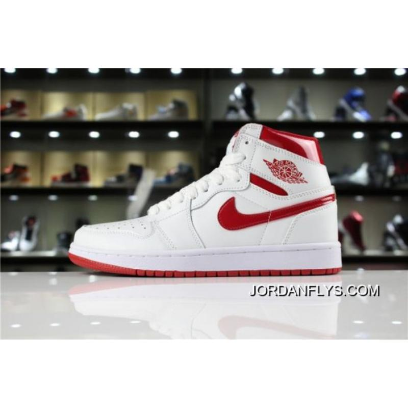 "low priced ba47e e8d36 Air Jordan 1 Retro High OG ""Metallic Red"" White/Varsity Red 555088-103 Big  Deals"