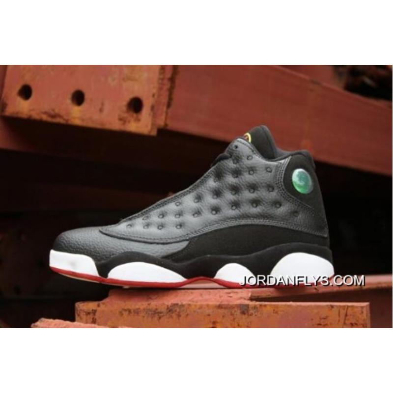"best website 5c670 4d01f New Air Jordan 13 ""Playoffs"" Black/True Red-White 414571-004 Copuon"