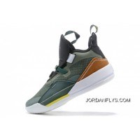"New Release Travis Scott X Air Jordan 33 NRG ""Army Olive"" CD5965-300"