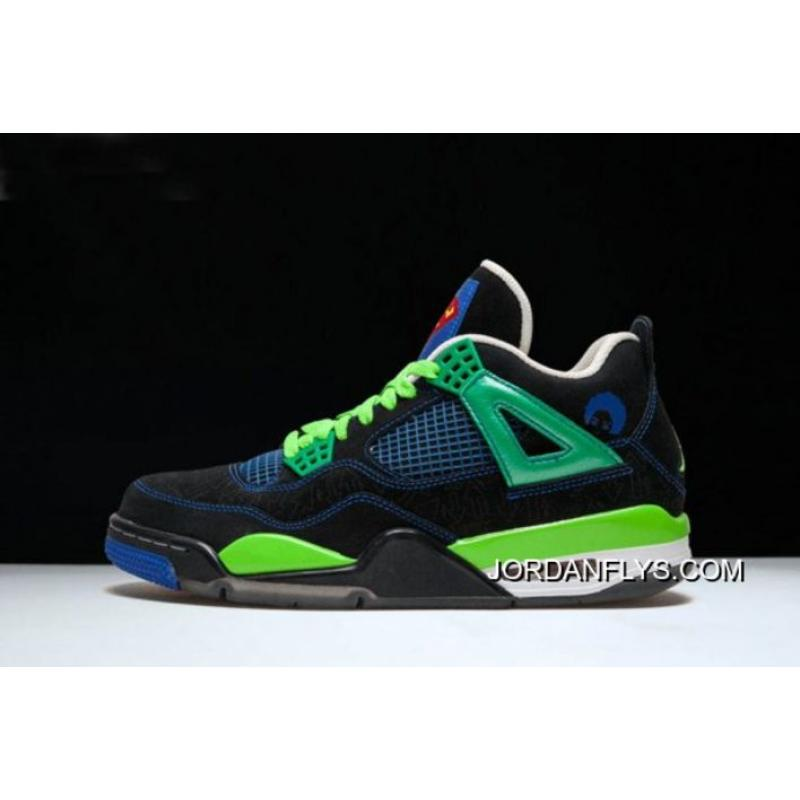 "buy popular 30cd5 38712 200 For Sale New Air Jordan 4 Retro ""Doernbecher"" Black Old Royal- ..."