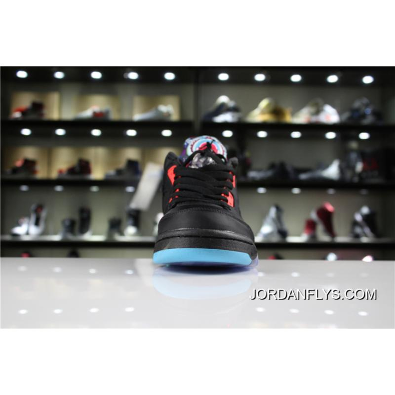 "1622fea50c88 ... New Release Air Jordan 5 Low ""Chinese New Year"" Black Bright Crimson-  ..."