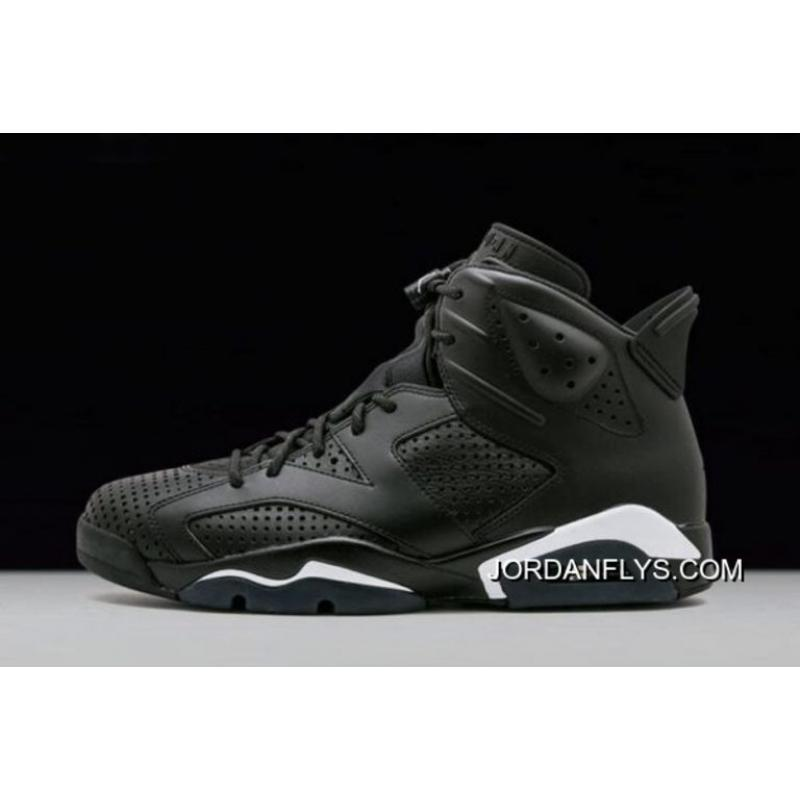"15513a4fe2613c New Release Air Jordan 6 ""Black Cat"" Black Black-White 384664-020 ..."