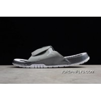 87337a152 200 Best Men s Air Jordan Hydro 11 Retro Slide Medium Grey White-Gunsmoke  AA1336