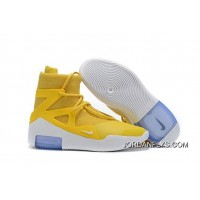 Men Nike Air Fear Of God Moccasin High Basketball Shoes SKU:34852-249 Tax Free