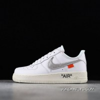 Men OFF-WHITE X Nike Air Force 1 Low Basketball Shoes SKU:186675-506 New Style