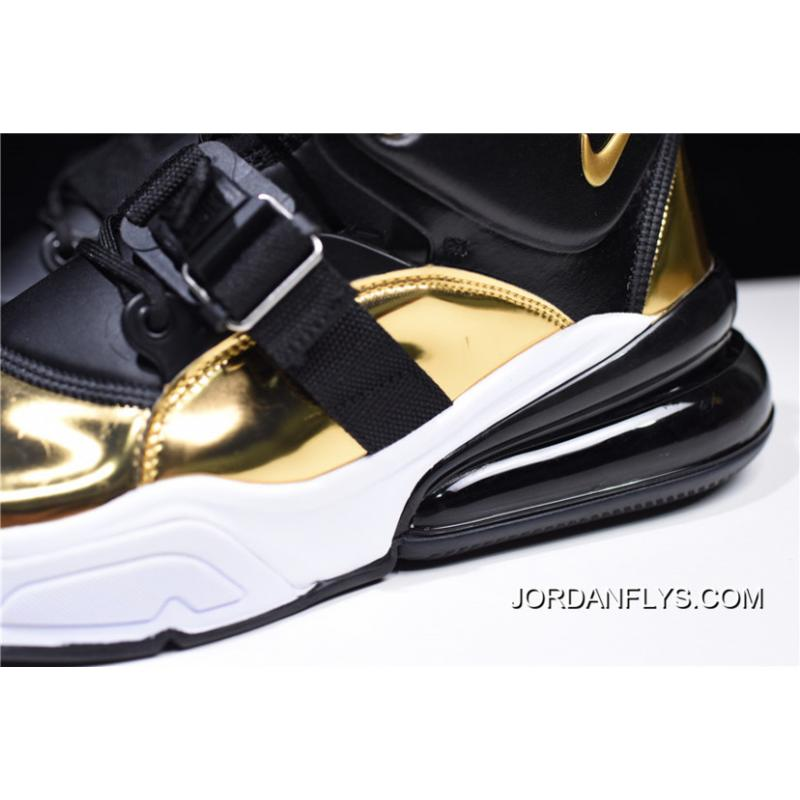 """... Men s Nike Air Force 270 QS """"Gold Standard"""" AT5752-700 On Sale Latest  ... 6667bfd5e048"""