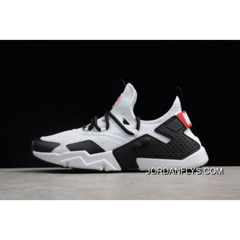 watch 95a29 11e87 ... new style mens nike air huarache drift br white black red running shoes  ao1133