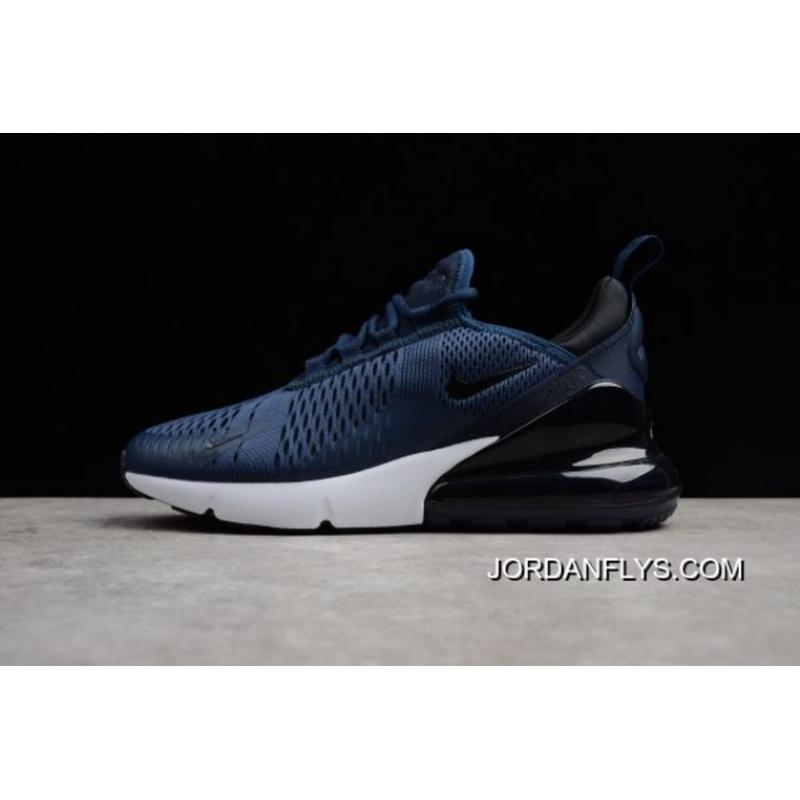 huge discount 5cc3c 542e0 Men's Size Nike Air Max 270 Midnight Navy/Black-White AH8050-400 Best