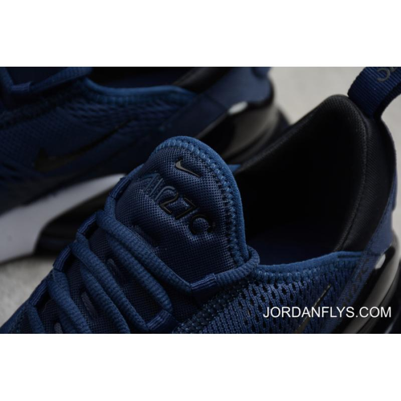 huge discount e7df3 90d62 ... Men s Size Nike Air Max 270 Midnight Navy Black-White AH8050-400 Best  ...