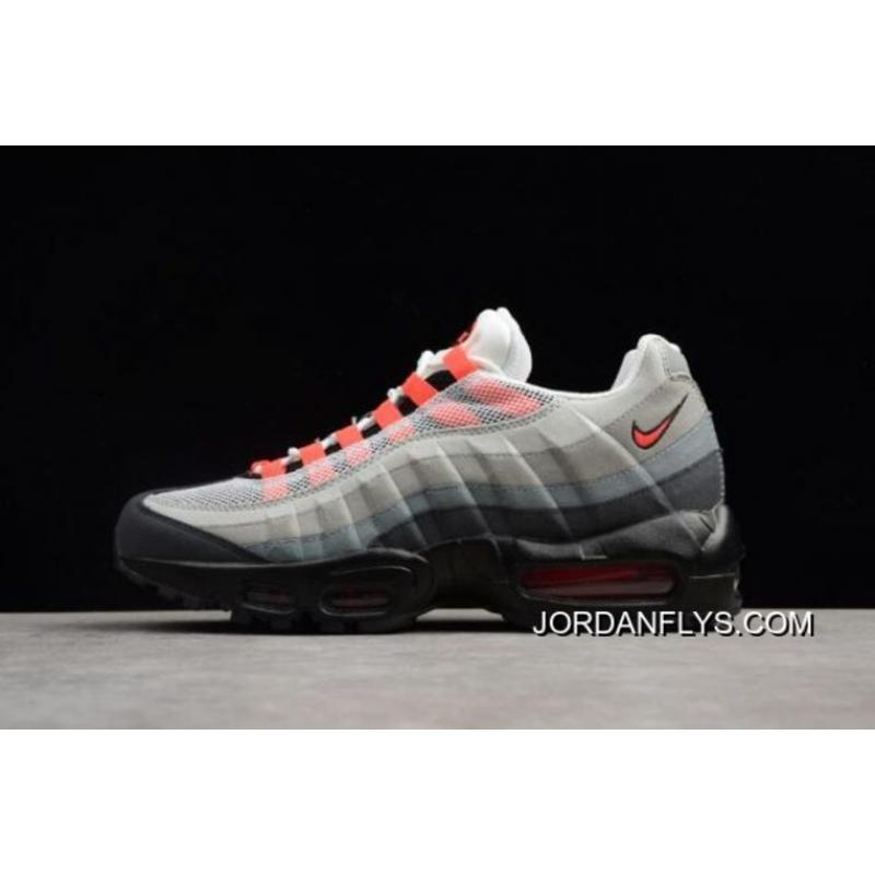 29a0cd4265 ... where can i buy nike air max 95 white solar red neutral grey mens  running shoes