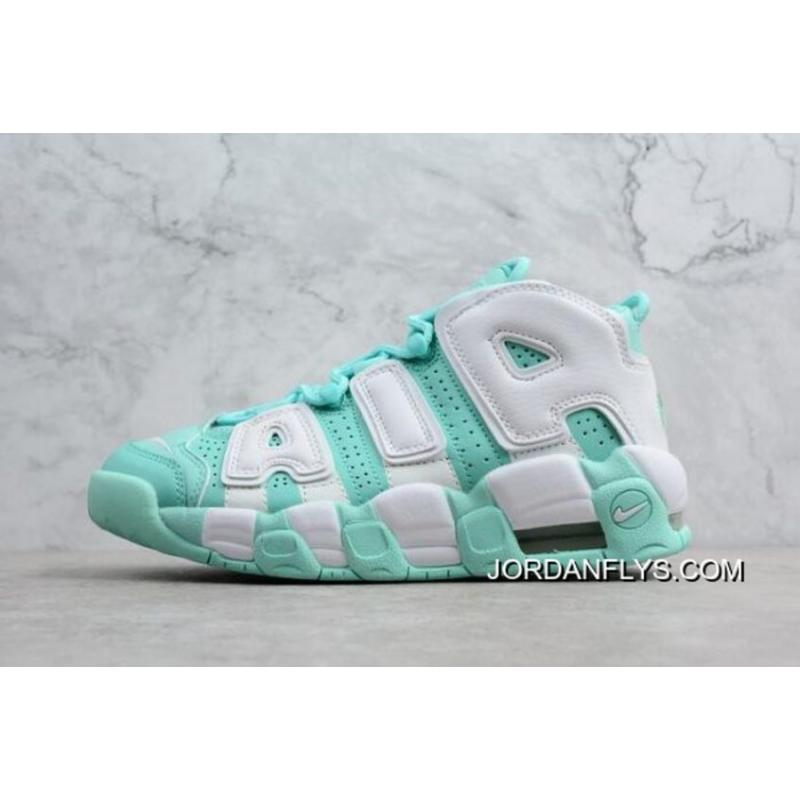 "a081e54def187 WMNS Nike Air More Uptempo GS ""Island Green"" 415082-300 Latest ..."
