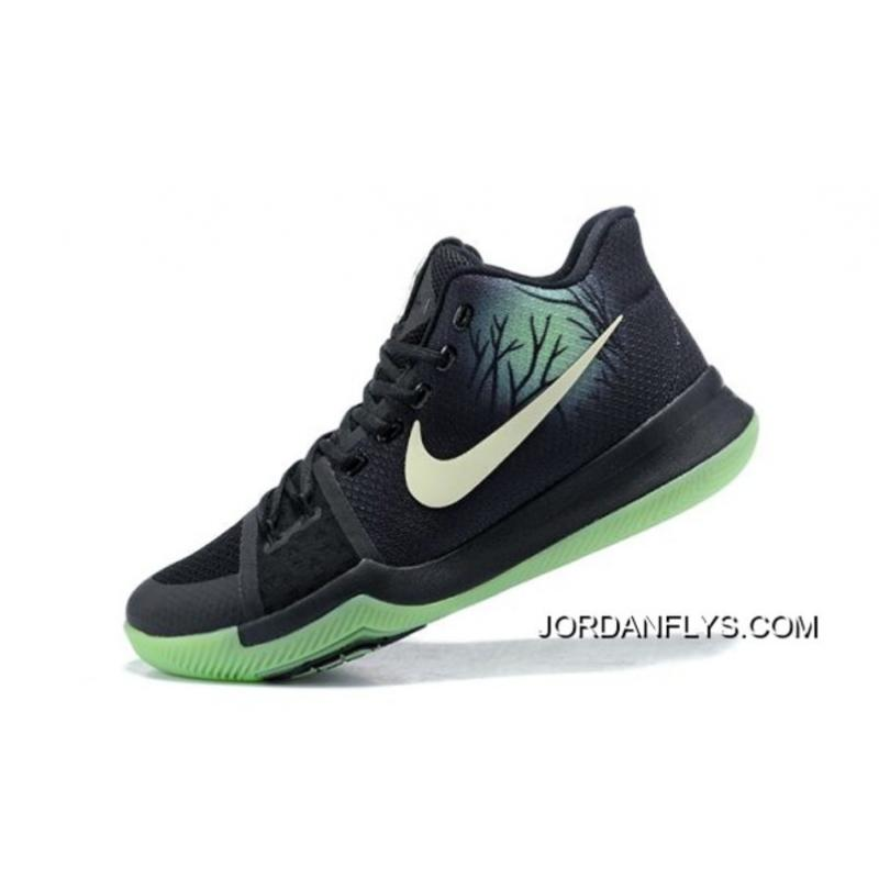"""45dd9d45f84 For Sale Kyrie Irving Nike Kyrie 3 """"Fear"""" PE Men s Basketball Shoes ..."""