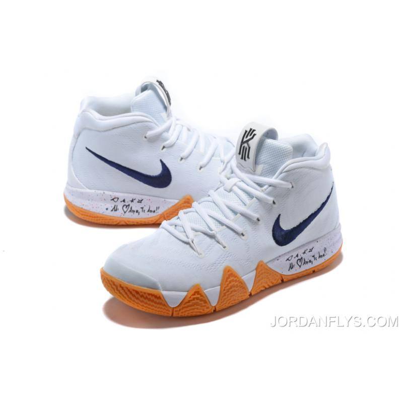 fd4d2a321b84 ... get new year deals nike kyrie 4 uncle drew white gum mens basketball  shoes aq8623 26c78 ...