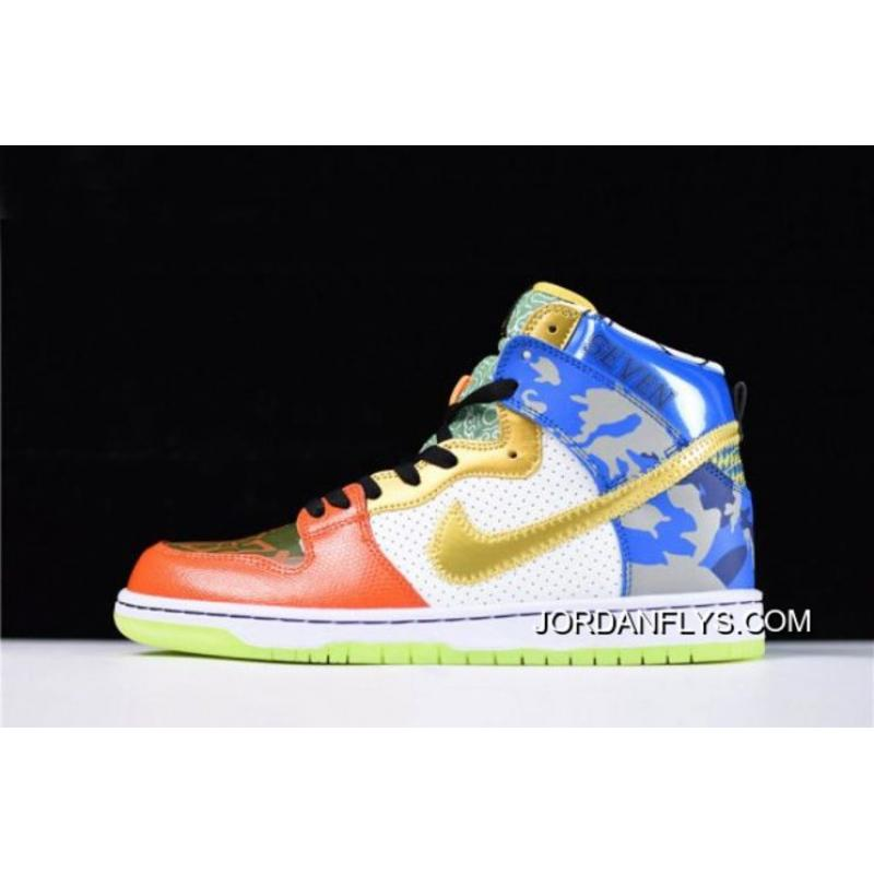"""buy online 16595 963c6 Mens And WMNS Nike SB Dunk High """"What The Doernbecher"""" Free Shipping Outlet"""