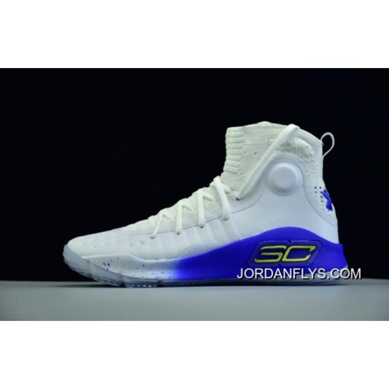 """650a35aa98 Men's Under Armour UA Curry 4 """"More Dubs"""" Basketball Shoes Online"""