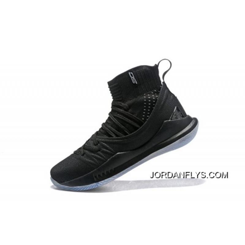 "check out 07f5e baec0 Under Armour Curry 5 ""Black Ice"" High Top Men s Basketball Shoes Big  Discount ..."