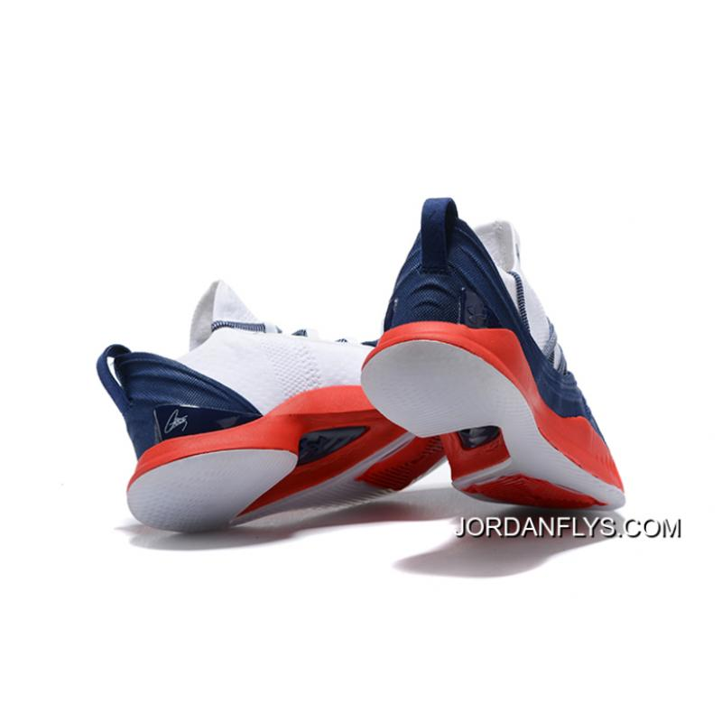 sports shoes f9593 bbb40 ... Online Men's Under Armour Curry 5 Low Navy Blue/Red-White Steph Curry  Basketball ...
