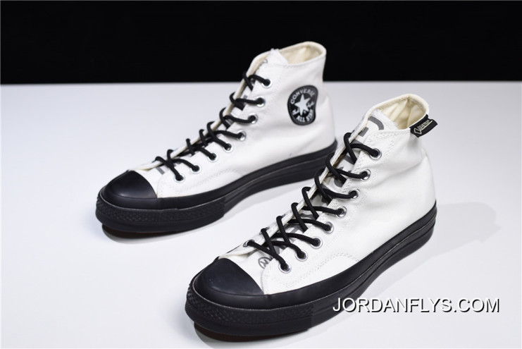 700d728c7df6b7 Women Men GORE-TEX X Converse Chuck Taylor All Star 1970s High White Black