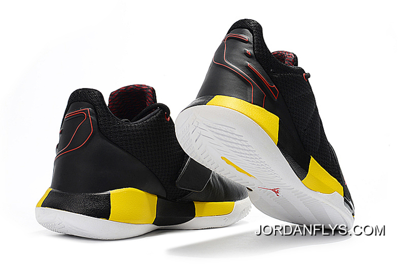 "237cf4bc04c Where To Buy Chris Paul s Jordan CP3.XI ""Taxi"" Black White-Tour ..."
