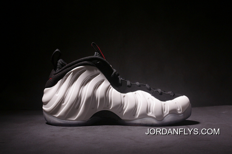 "huge discount 98c66 e1466 Nike Air Foamposite Pro ""He Got Game"" Pearl White Black-True Red"