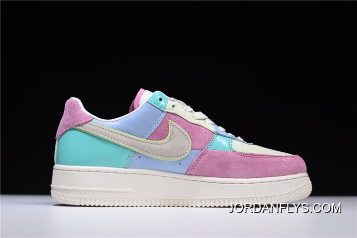 """new concept d3c33 49bc1 New Release Men s And Women s Nike Air Force 1 Low """"Easter Egg"""" Ice Blue"""