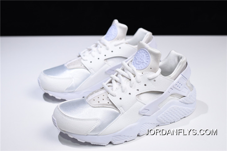 """on sale 472d0 d3d80 New Year Deals Nike Air Huarache Run """"Triple White"""" Men's And Women's Size  Running Shoes 634835-108"""