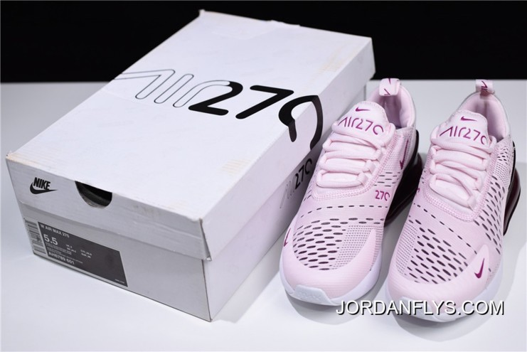 huge selection of b6f7a 7953a New Release Nike WMNS Air Max 270 Barely Rose/Vintage Wine-Elemental  Rose-White AH6789-601