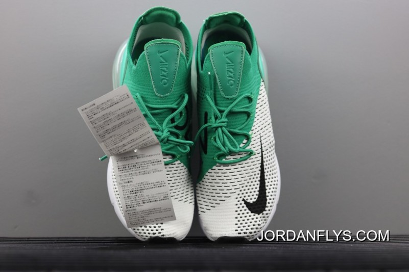 """c211e3f3223c6 New Release Men s Size Nike Air Max 270 Flyknit """"Clear Emerald"""" AH6803-300"""