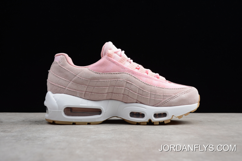 separation shoes 5b0b2 450e2 Women's Nike Air Max 95 SD Prism Pink/White-Sheen-Black 919924-600 Running  Shoes Latest