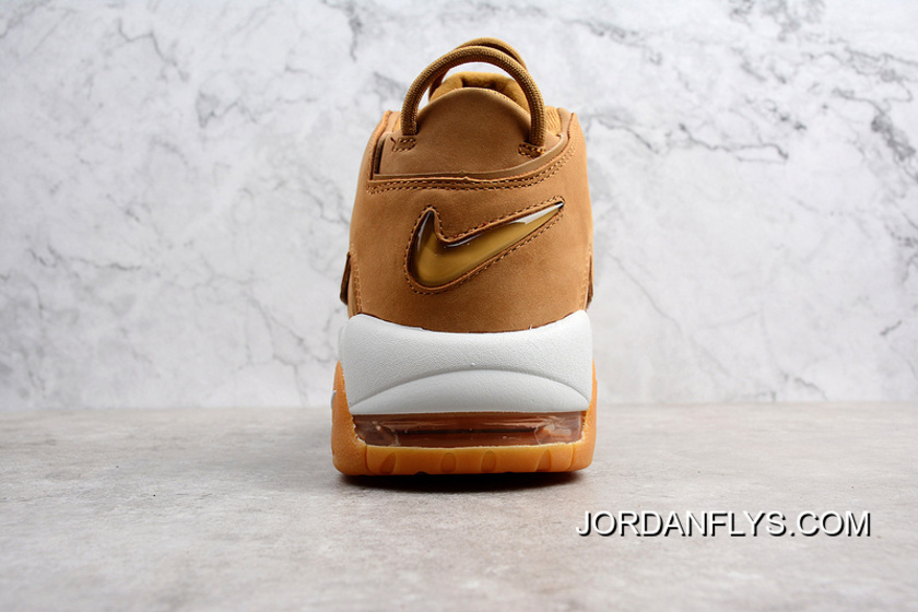 """low priced 83965 01205 Super Deals Nike Air More Uptempo PRM """"Wheat"""" Flax Flax-Gum Light"""