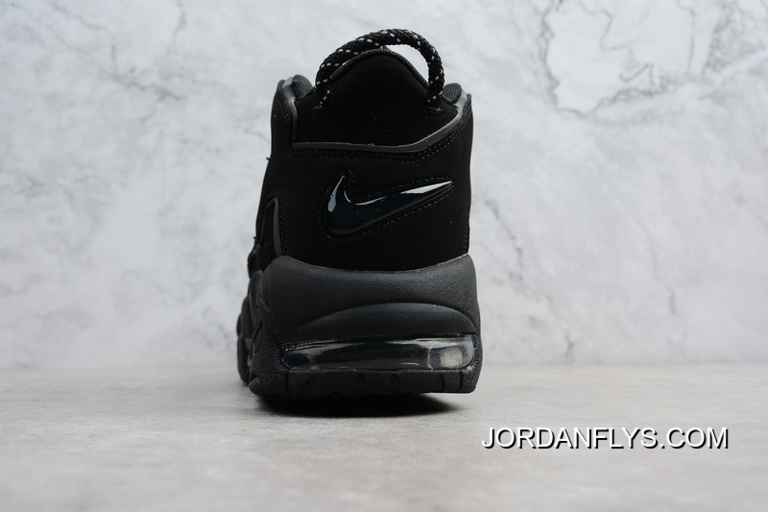"880ed23ac745a Where To Buy Nike Air More Uptempo ""Triple Black"" Men s Size Shoes 414962-"