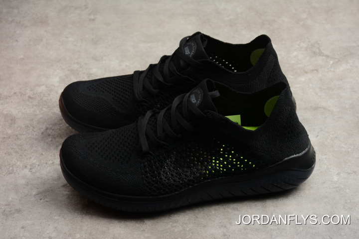 b72a813b952f Nike Free Run Flyknit 2018 Black Anthracite Men s Running Shoes 942838-002  Where To