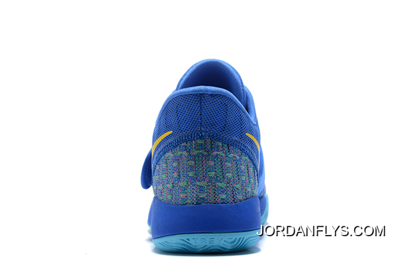 Nike KD Trey 5 VI Signal Blue Yellow Men s Basketball Shoes Buy Now ... 18e7be19a