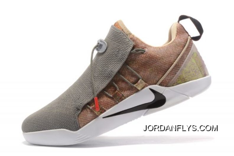 "size 40 2992a df158 Outlet Nike Kobe AD NXT ""Masterpiece"" Wolf Grey Khaki-White Shoes"