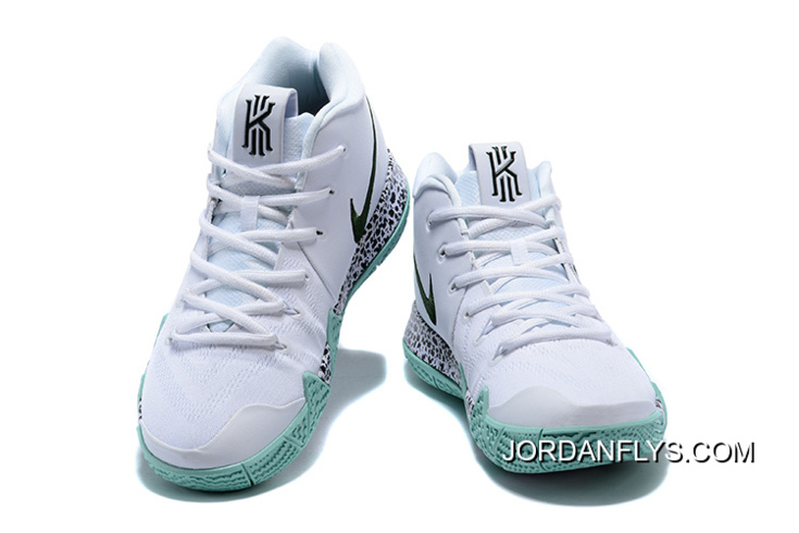"buy popular 9e37b d6ac4 Kyrie Irving Nike Kyrie 4 ""White"" Glow In The Dark Men s Basketball Shoes  Outlet"