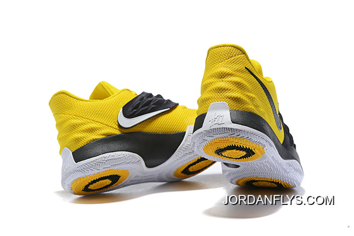 on sale 71121 a646d Nike Kyrie 4 Low Amarillo/Black-White AO8979-700 Sale Free Shipping New  Style