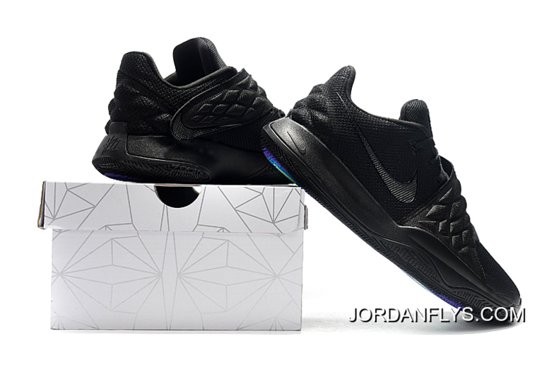 "competitive price 04795 f436e Latest Nike Kyrie 4 Low ""Triple Black"""