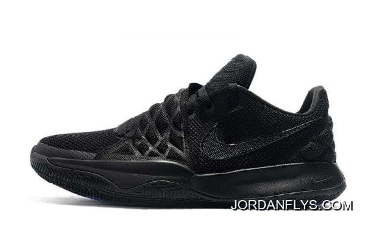 """competitive price 9df9d 099a7 Latest Nike Kyrie 4 Low """"Triple Black"""""""