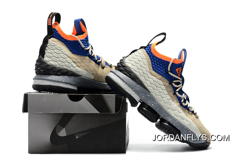"new styles 97535 cbb1b Online Nike LeBron 15 ""ACG Mowabb"" Men's Basketball Shoes AR4831-900"