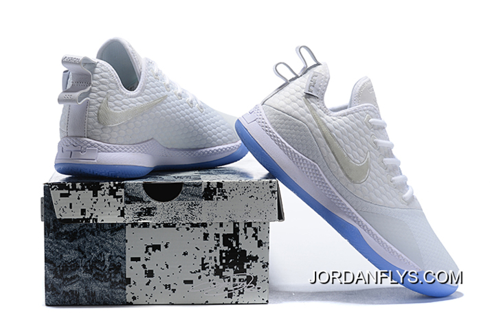 new product a536f 339d6 Nike Lebron Witness 3 White Metallic Silver New Style