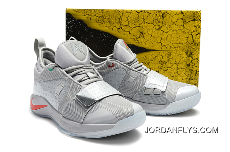 new concept 7be49 dedc9 PlayStation X Nike PG 2.5 Wolf Grey/Multi-Color BQ8388-001 New Year Deals