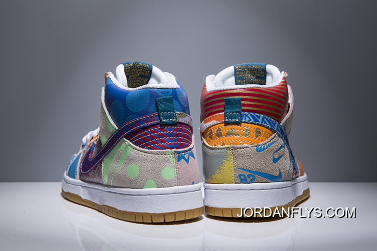 "online retailer ce21c 12a9b New Release Nike SB Zoom Dunk High Premium TC ""What The"" Ice Jade"